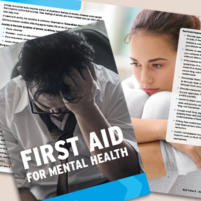 first aid for mental health - Fife First Aid Training
