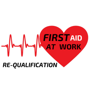 First Aid at Work (Re-qualification) Button