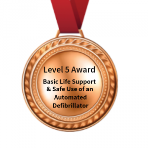 Level 5 Award in BLS & AED fife first aid training