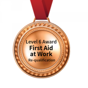 Level 6 Award - First Aid at Work - requalification