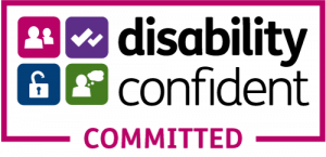 Accreditations - disability confident committed accreditation
