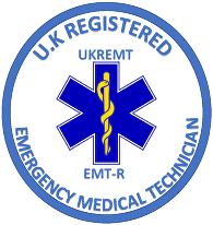 Accreditations - uk registered emergency medical technician fife first aid training