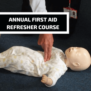 ANNUAL FIRST AID REFRESHER COURSE