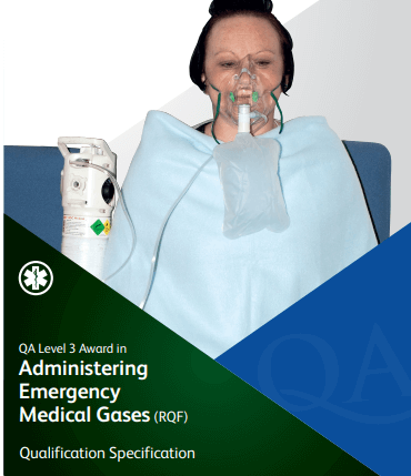 QA Level 3 Aware in Administering Emergency Medical Gases (RQF) Fife First Aid Training