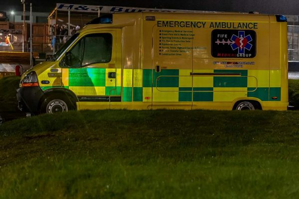 AMBULANCE AT EVENT - FIFE MEDICAL GROUP