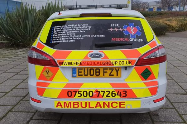 FIFE MEDICAL GROUP - COVERING SPORTING EVENTS - FIRST AID