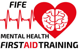 Fife Mental Health First Aid - Master Logo - White Background - No.1 Training First Aid and Mental Health - Covering the whole of the UK based in Scotland