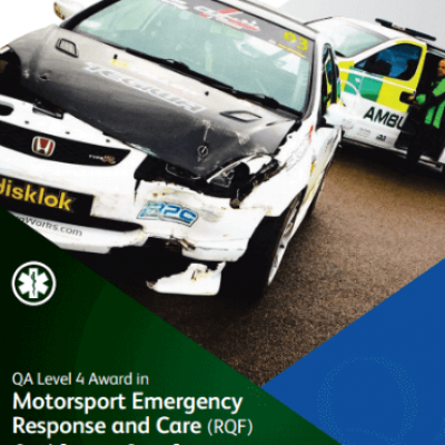 Level 4 Award in Motorsport Emergency Response and Care (RQF) Qualification by Fife Medical Group, Kirkcaldy, Scotland