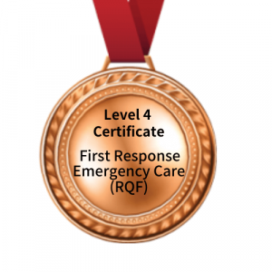 Level 4 Cert - First Response Emergency Care Medal