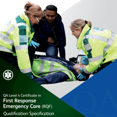 Level 4 Certificate in First Response Emergency Care RQF Fife First Aid Training