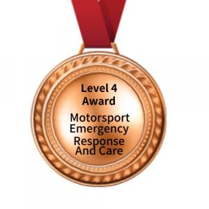Medal Level 4 Award Motorsport